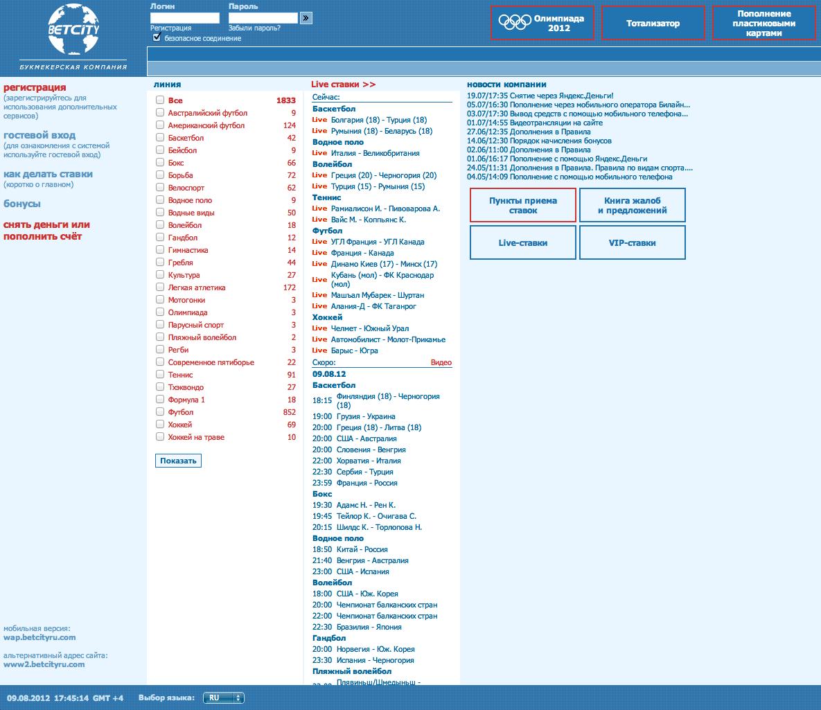 Лучший сайт для ставок на спорт онлайн
