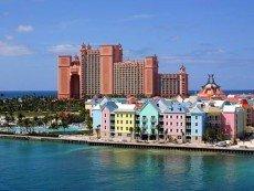 На одном из Багамских островов