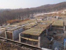 Строительство на территории 'Приморья' только началось