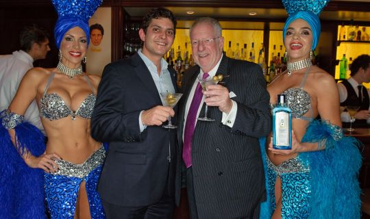 Оскар Гудман (справа) рад принять в Лас-Вегасе родителя с деньгами на образование ребенка в кармане