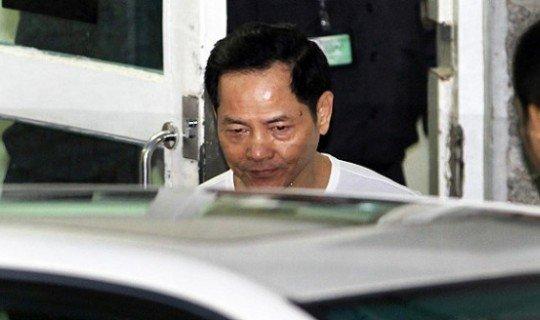 «Сломанный Зуб», босс одной из триад выходит из тюрьмы