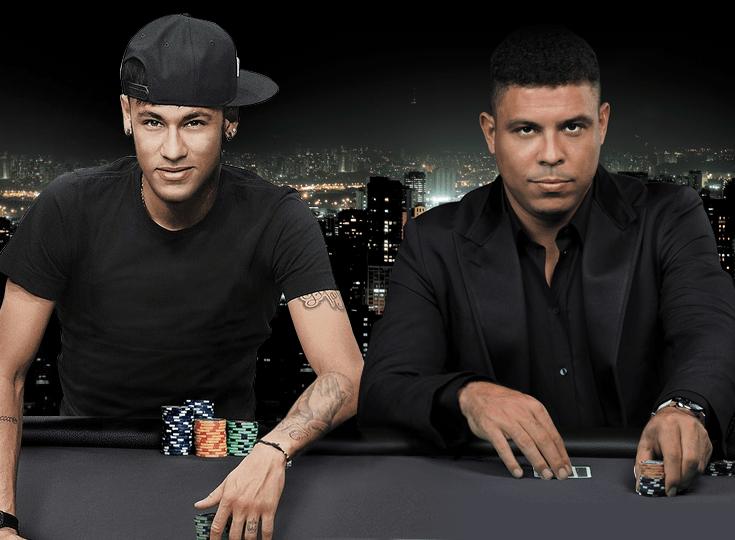 Неймар и Роналдо стали героями самой масштабной рекламной кампании PokerStars в Facebook