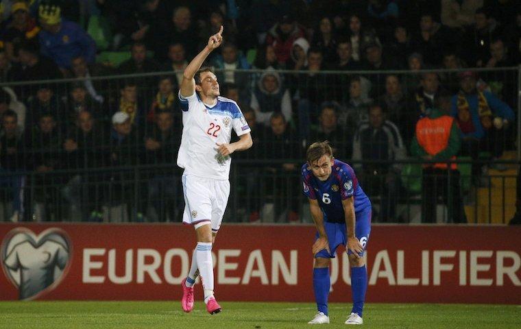 прогнозы на футбол россия черногория