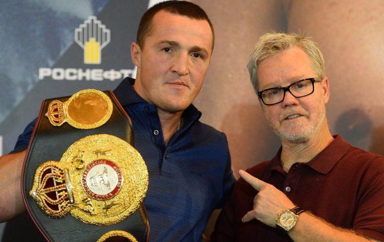 Лебедев: надеюсь показать качественный бокс в бою с Рамиресом