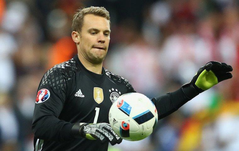 Германия выиграла третий матч кряду вквалификацииЧМ