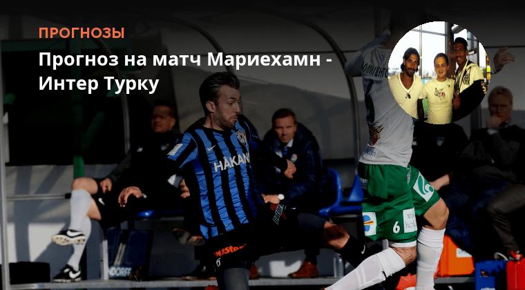 Футбол Мариехамн Интер Турку Прогноз