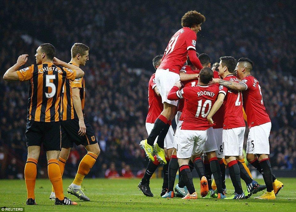 Манчестер Юнайтед одержал победу вгостях уХалл Сити