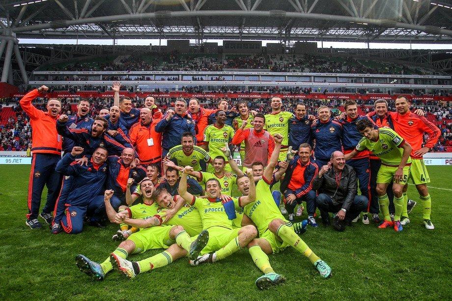 ЦСКА сминимальным счётом 1:0 победил навыезде «Томь»