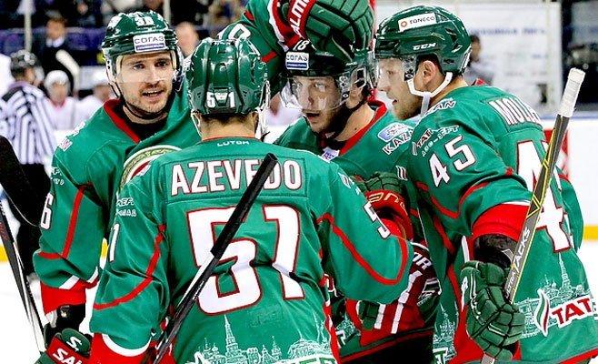 КХЛ. «АкБарс» потерпел 2-ое поражение подряд