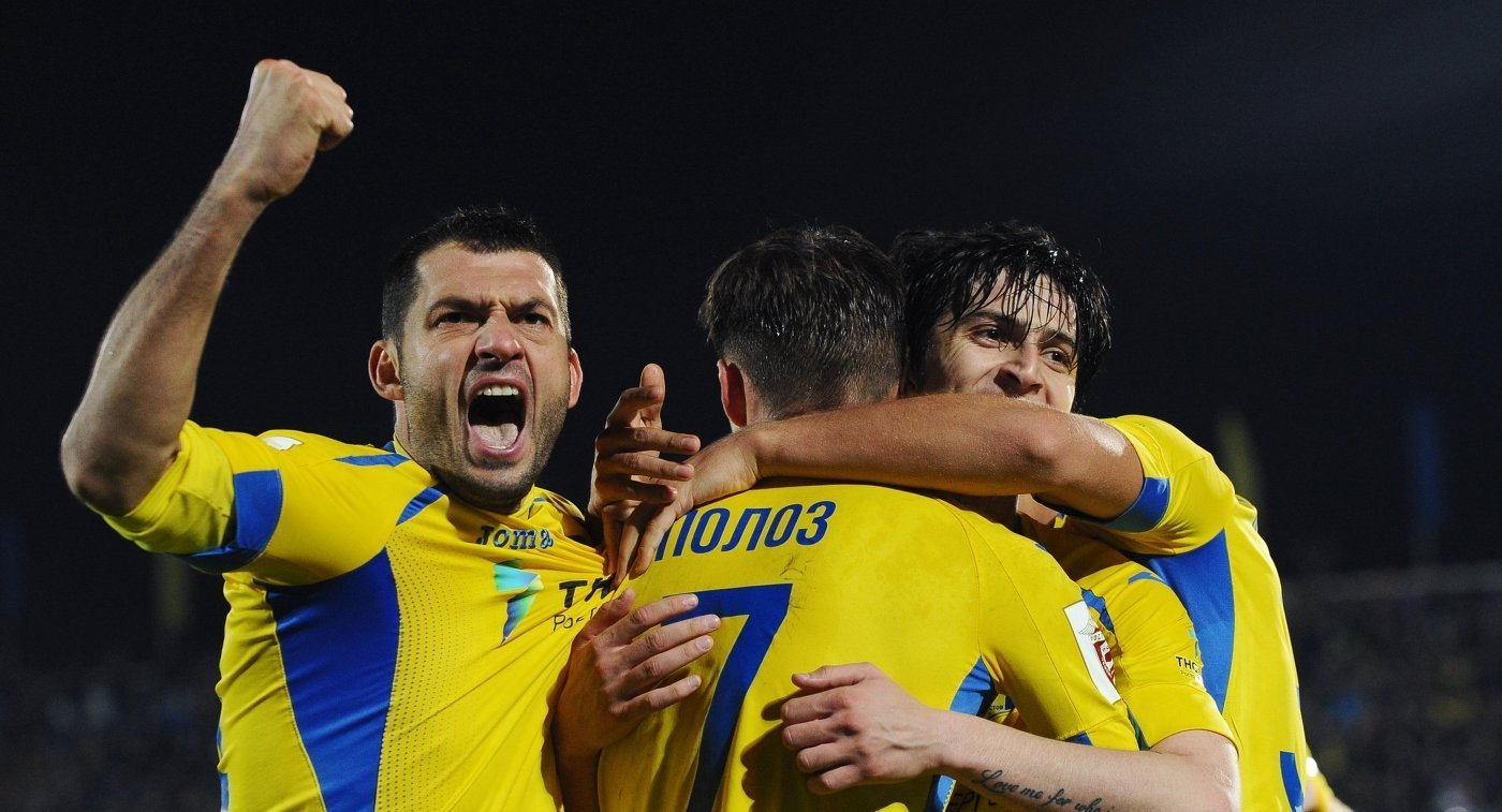 «Ростов» сыграет вгостях с«Аяксом» вквалификации Лиги чемпионов