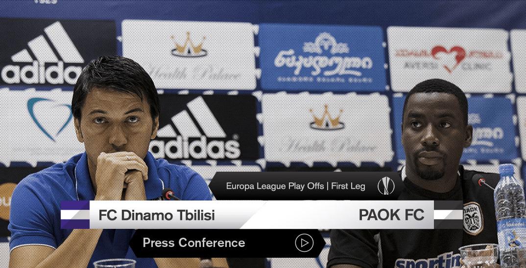 ПАОК разгромил «Динамо» Тбилиси враунде плей-офф Лиги Европы
