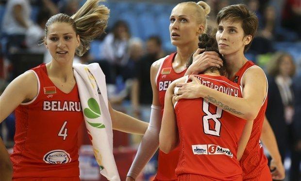 Женская сборная Белоруссии побаскетболу уступила Турции вРио