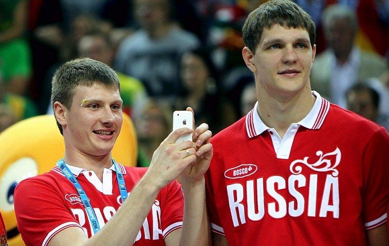 Сборная РФ побаскетболу прошла начемпионат Европы