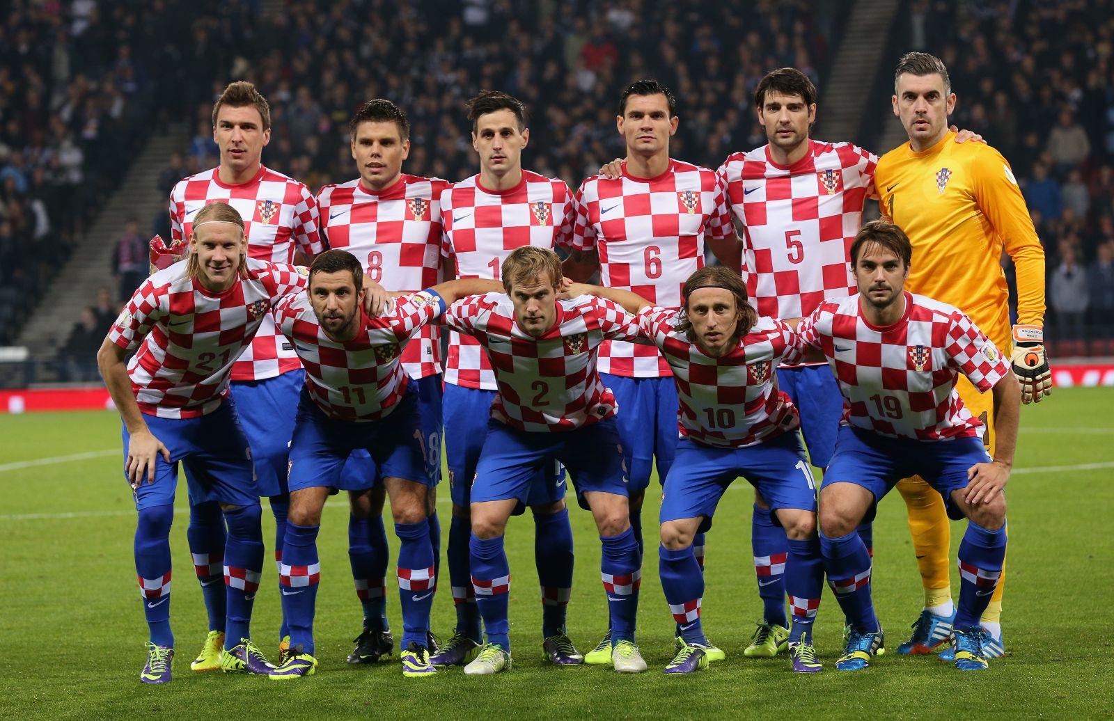 фото сборной хорватии по футболу это