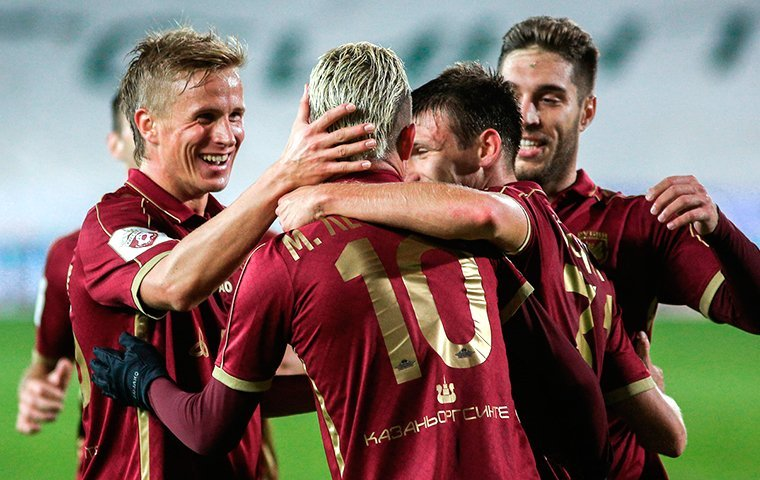 «Рубин» переиграл «Томь» вматче восьмого тура чемпионата РФ