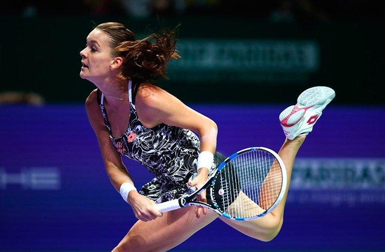 Итоговый турнир WTA. Радваньска обыграла Плишкову ивышла вполуфинал