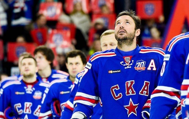 Петербургский СКА победил столичных армейцев вматче КХЛ