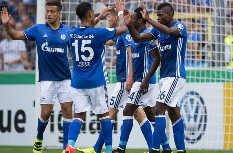 «Шальке» одержал победу у«Вольфсбурга», «Боруссия» Муступила «Кёльну»