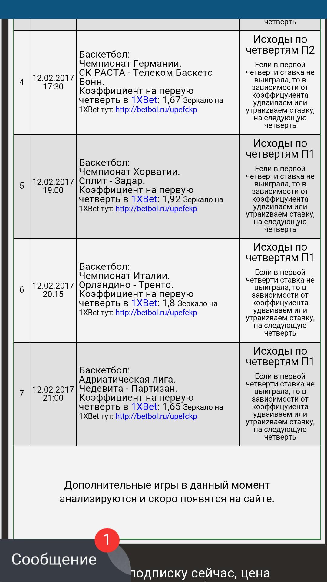 Прогнозы На Матчи 4-5 Октября