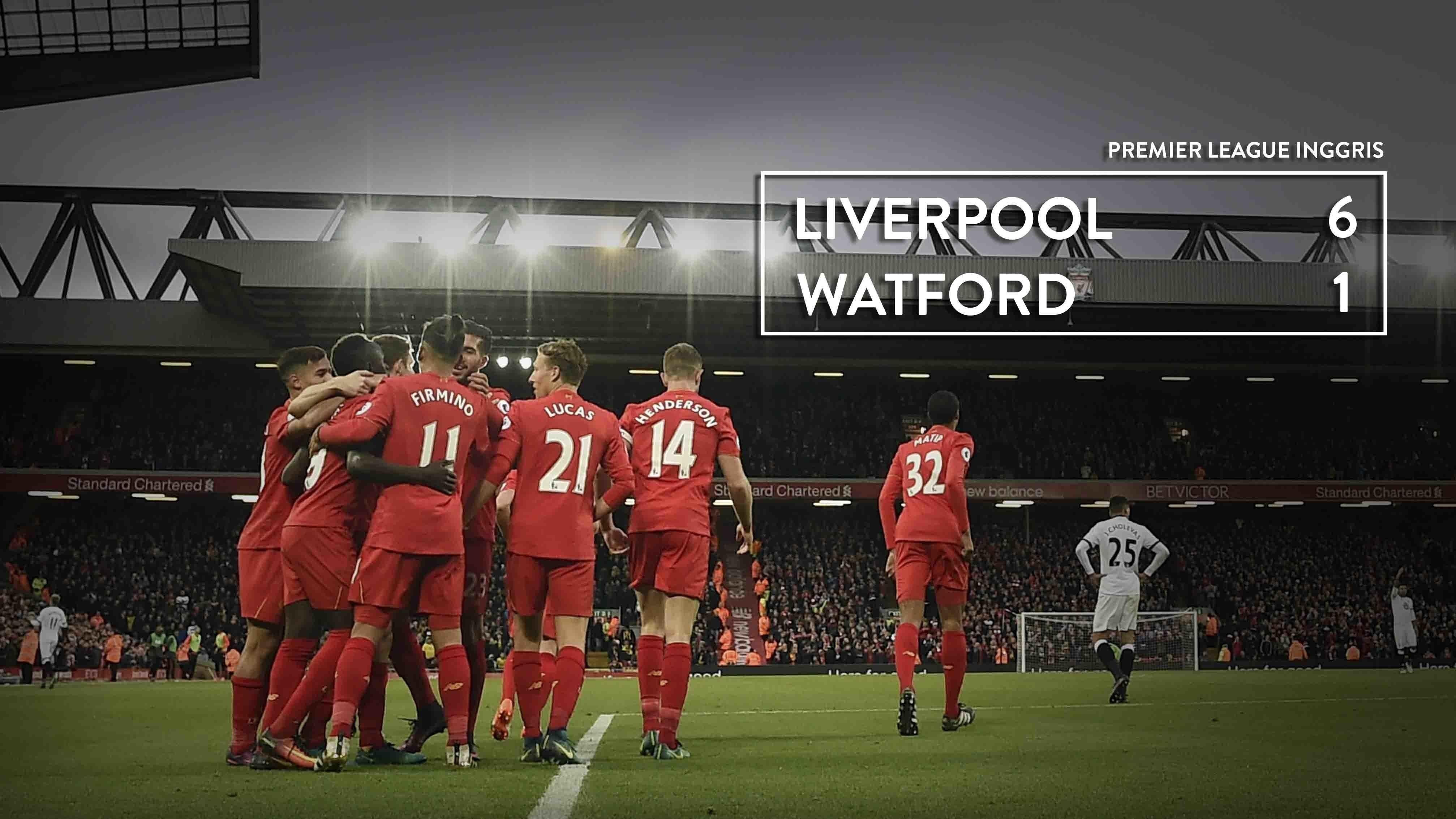 Прогноз на матч Ливерпуль - Уотфорд 17 марта 2018