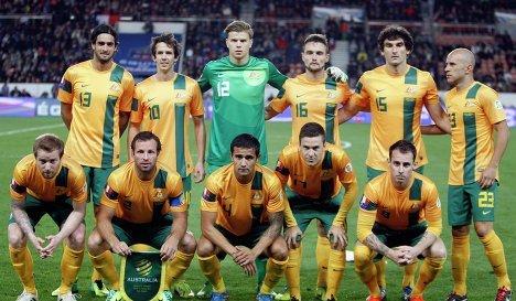 Сборная Австралии вышла начемпионат мира— 2018 пофутболу