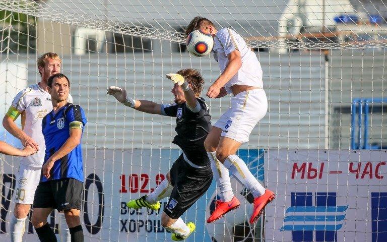 Футболисты «Тюмени» одержали первую победу втекущем сезоне