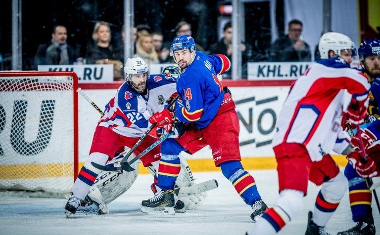 ЦСКА обыграл «Йокерит» ивышел вполуфинал плей-офф КХЛ