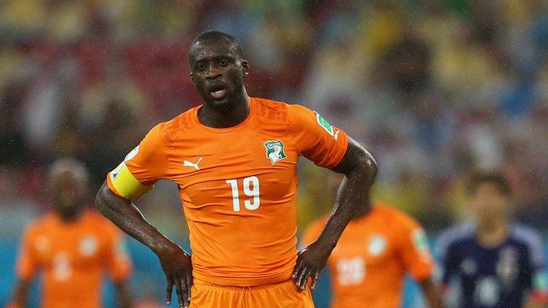 ЯяТуре неприехал врасположение сборной Кот-д'Ивуара