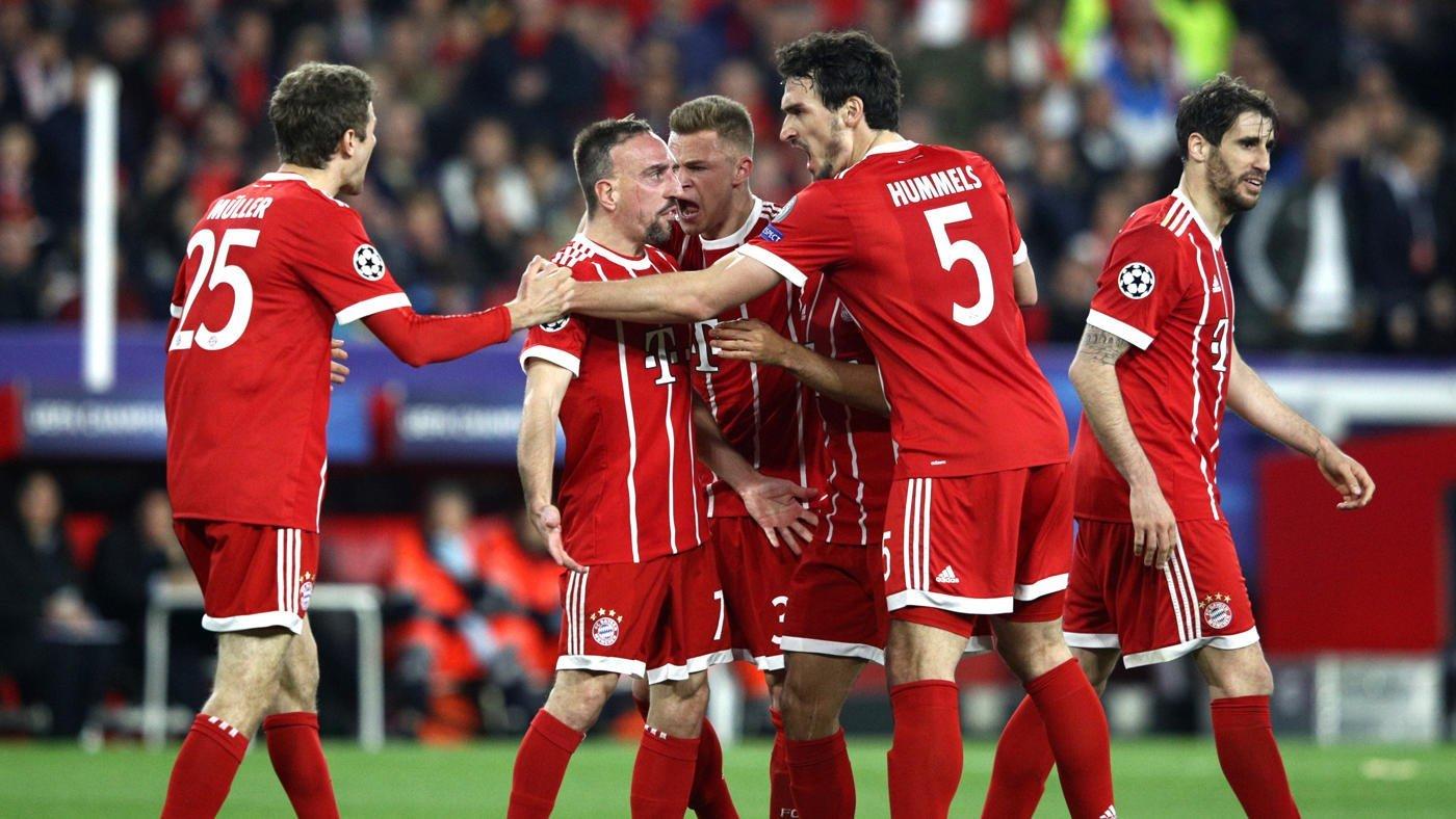 Бавария – Севилья. Прогноз матча Лиги Чемпионов
