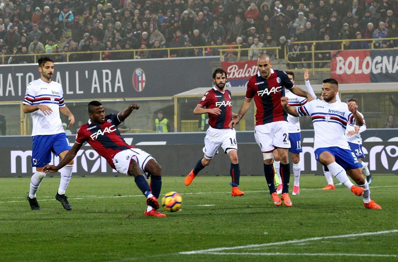 Прогноз на матч Болонья - Сампдория