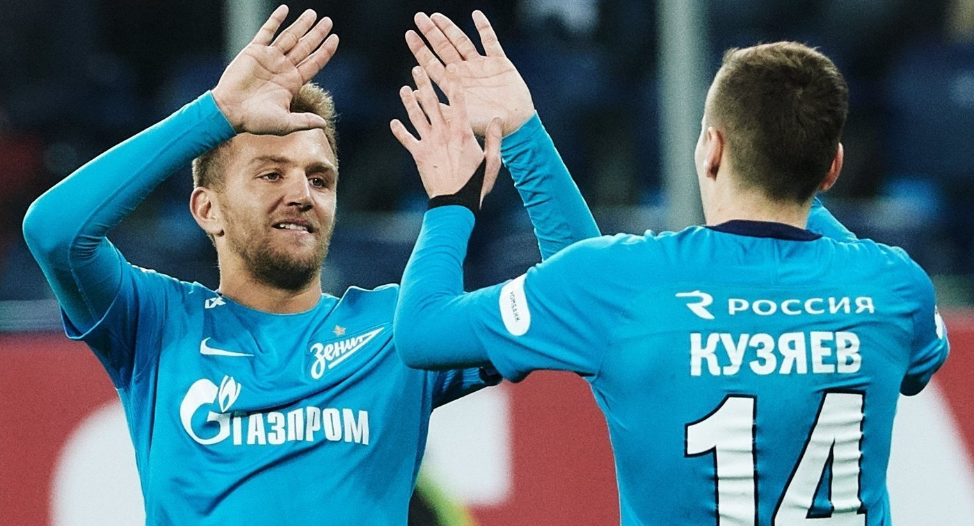 Прогноз на матч ЦСКА Москва - Зенит Санкт-Петербург 11 ноября 2018