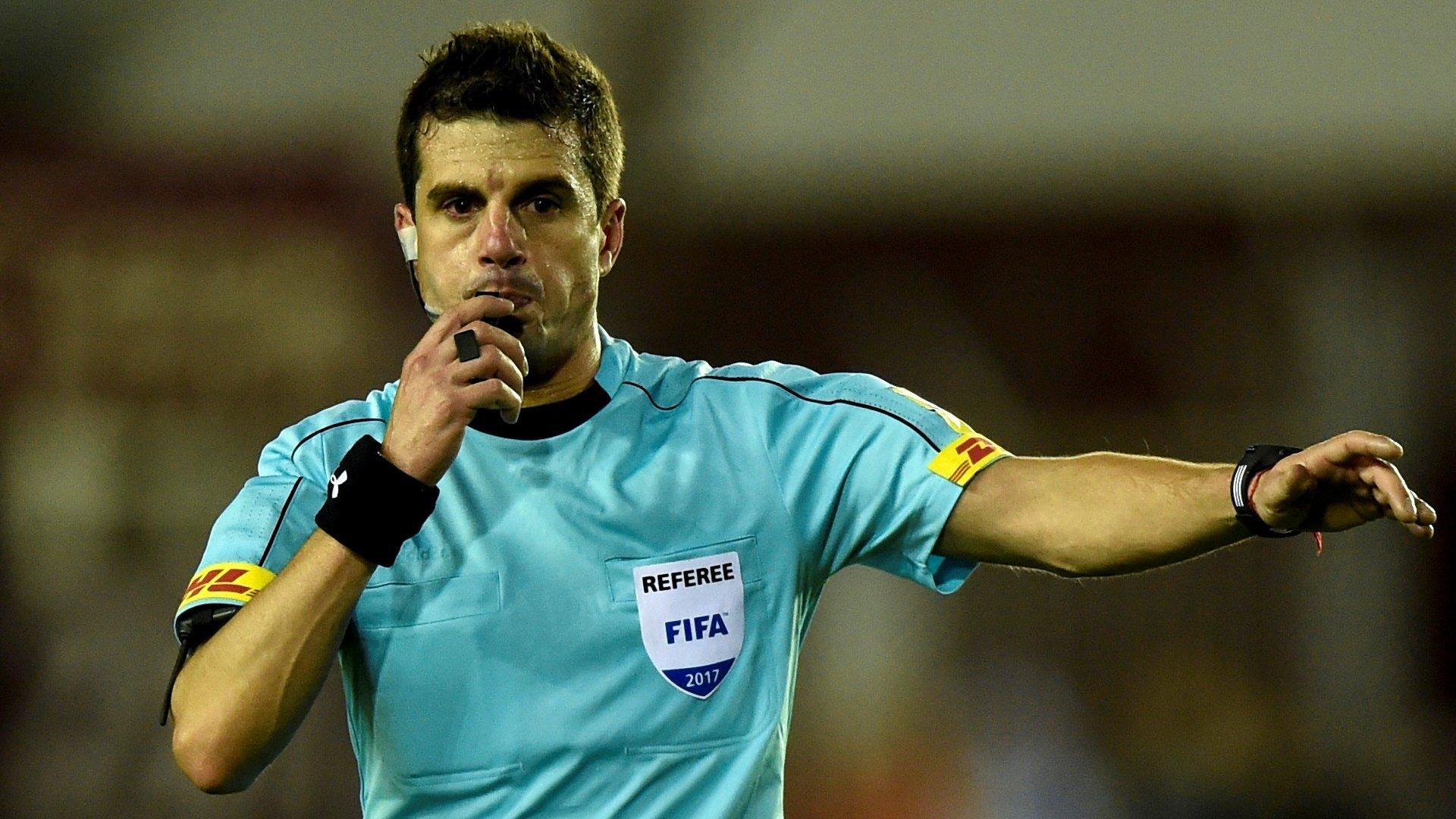 Бельгия: Уругвайский судья Кунья назначен наполуфинал чемпионата мира Франция