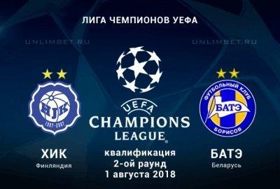 БАТЭ вышел в3-й отборочный раунд Лиги чемпионов