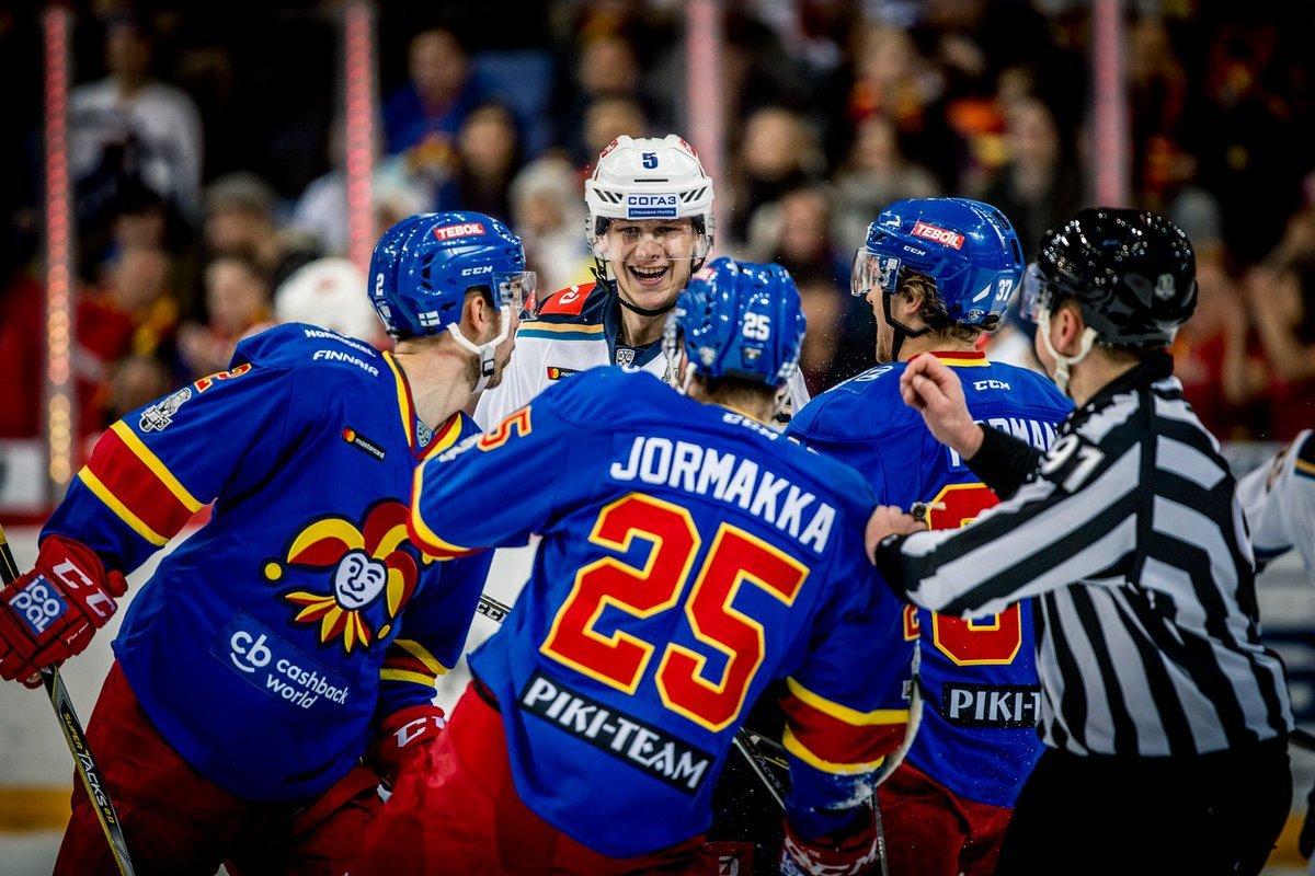 Прогноз на КХЛ: Йокерит – Спартак Москва – 26 октября 2018 года