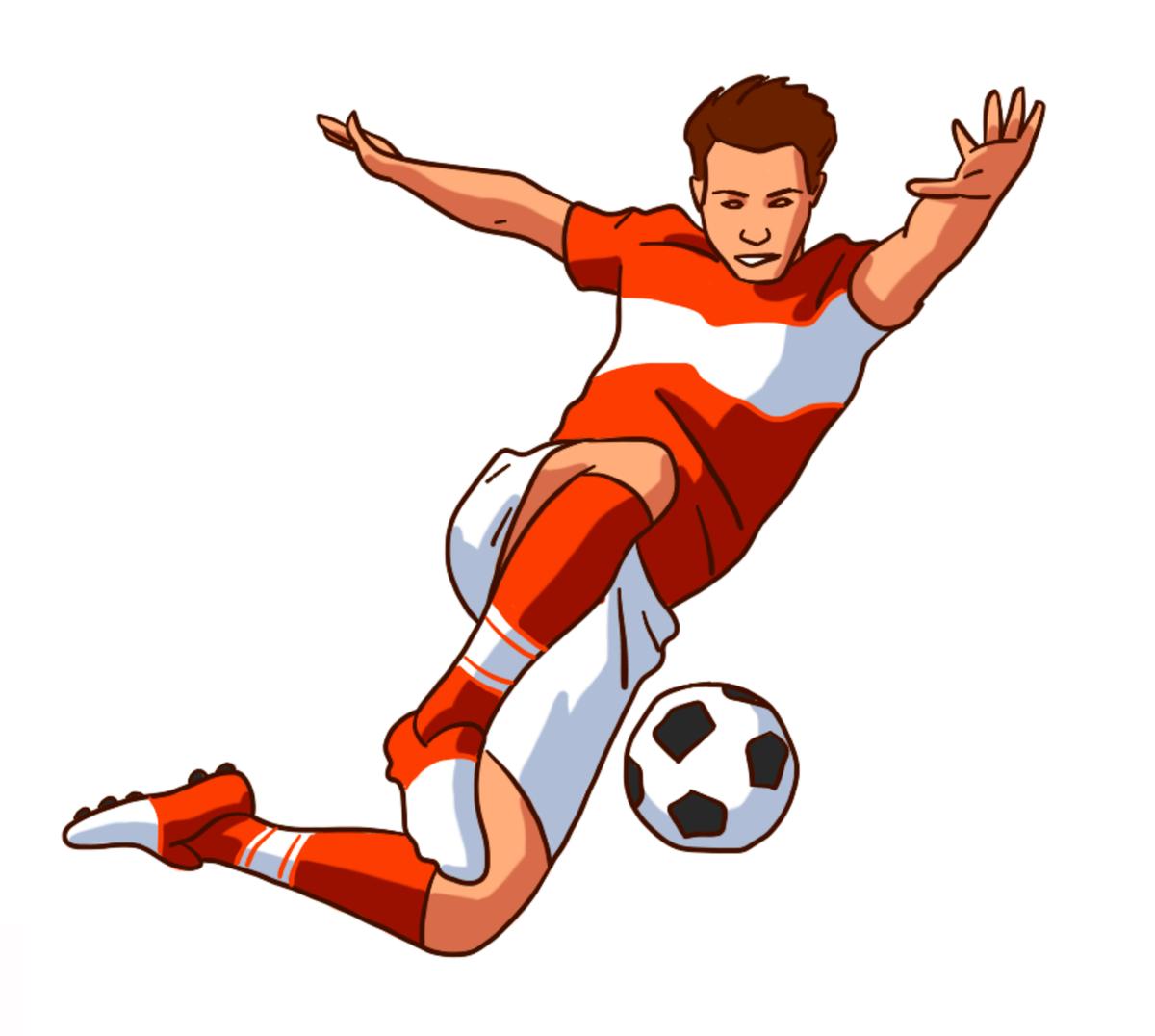 Рисунки о футболе