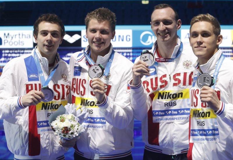 Мужская сборная России – вторая в эстафете
