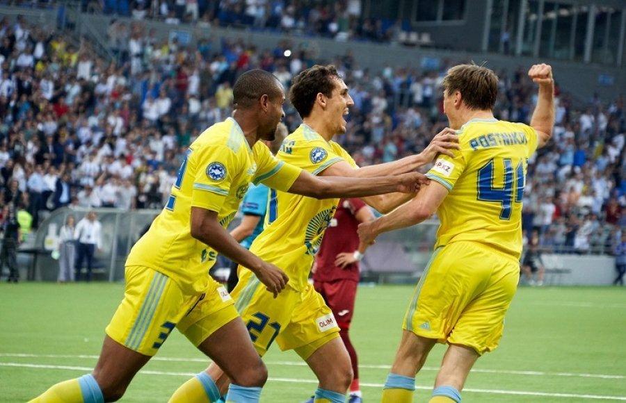 «Астана» вотборе Лиги Европы разгромила чемпиона Республики Беларусь