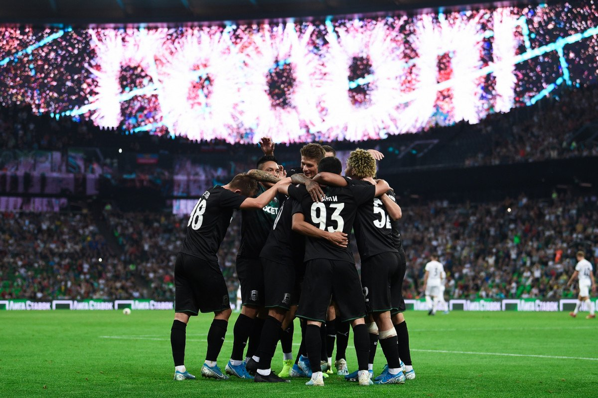 «Краснодар» проиграл испанскому «Хетафе» вматче Лиги Европы