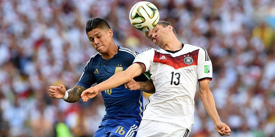 Сборная Аргентины ушла от поражения в товарищеском матче с Германией