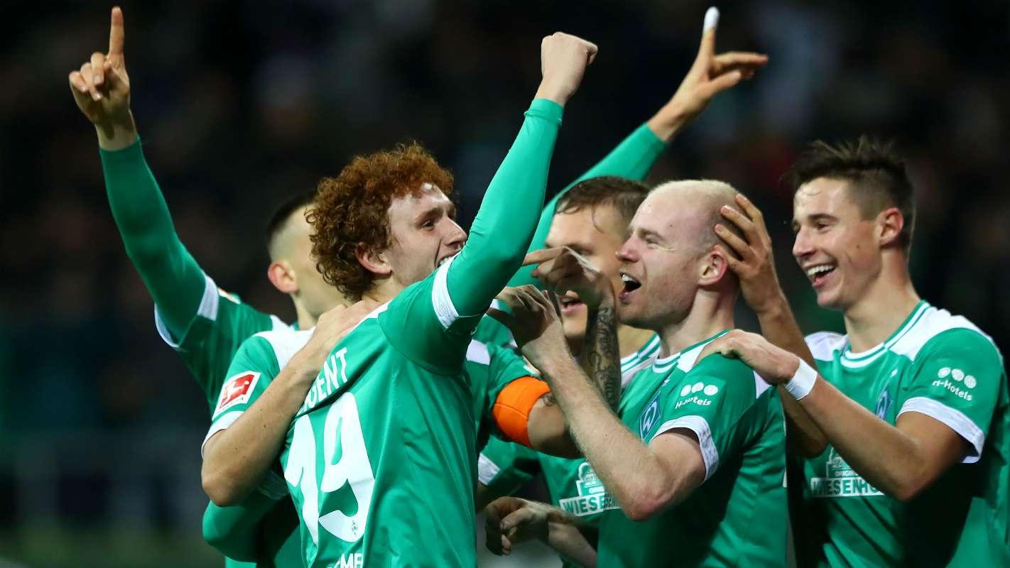 Сайт футбольного клуба вердер германия