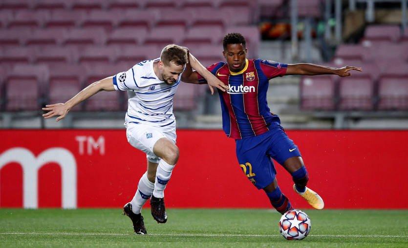 «Динамо» Киев – «Барселона»: прогноз и ставка. Гости победят в низовой встрече