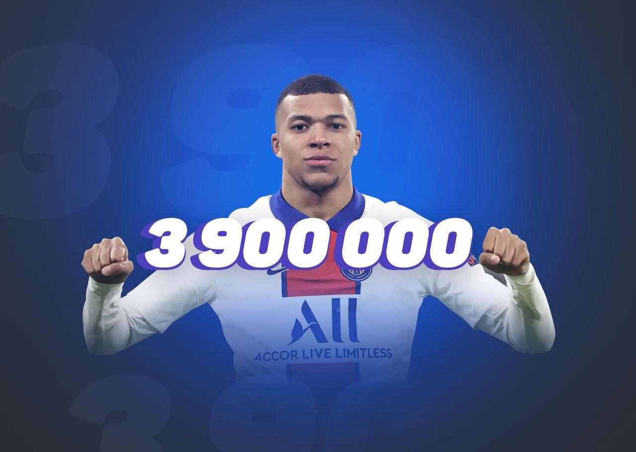 Победа ПСЖ в матче с «Баварией» принесла игроку ₽3,9 млн