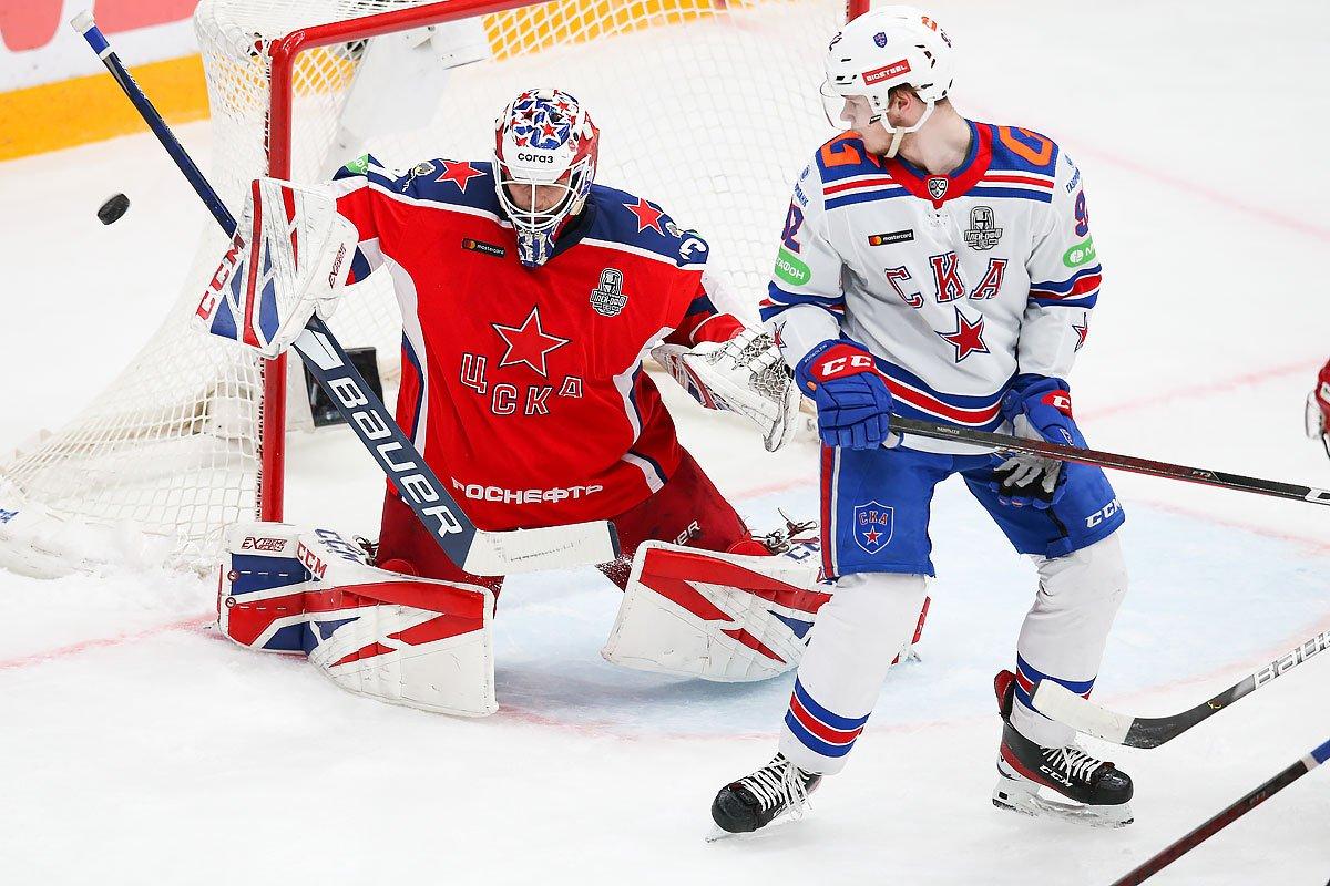 СКА победил ЦСКА в четвертом матче серии